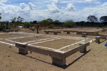 Baubeginn Kindergarten