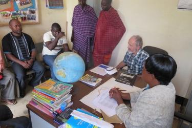 Verhandlung Eigenleistung der Massai