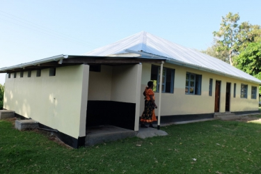 Auch die Toiletten Anlage wurde neu gebaut