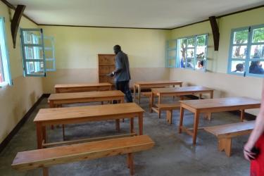 Der Essraum fuer die Kleinen die meist ohne Fruehstueck in den Kindergarten kommen