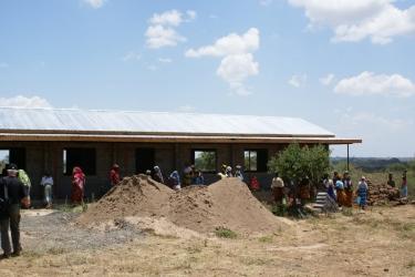 Kindergarten Ngulu Baustelle