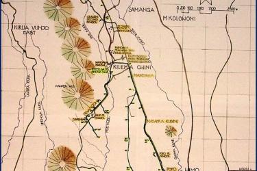 Bild Plan Wasserprojekt Kilema Mandaka_