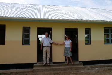 2016 Renovierter Kindergarten Kibosho.