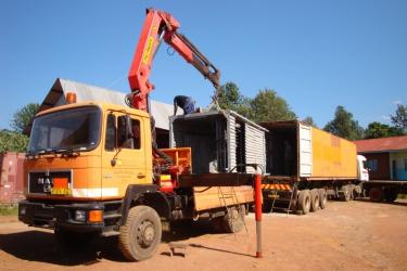 Die Station für Rundugai ist angekommen