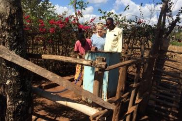 Wasserprojekt Mbosho Wasserstelle 2015