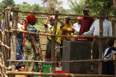 Wasserprojekt Wasserstelle Mbosho Parish